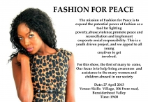 Fashion4Peace show